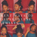 10 Different Ways to Style Old Senegalese Twists (Holiday Edition)